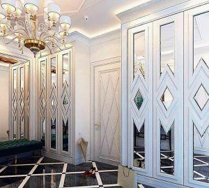 Двери с делителем наклейкой Великий Новгород
