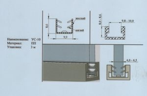 Уплотнитель 4-6,5 мм Великий Новгород