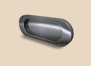Ручка серебро глянец овальная Италия Великий Новгород