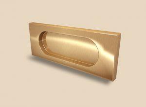 Ручка Золото глянец прямоугольная Италия Великий Новгород
