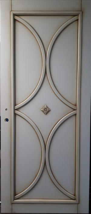 Вставка с фигурной филенкой (эмаль с патиной) Великий Новгород
