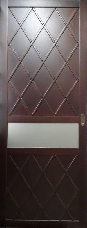 Вставка в дверь с фигурной филенкой Великий Новгород