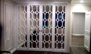 Двери с фигурной филенкой, эмаль Великий Новгород